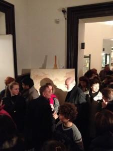 Michelangelo Pistoletto al MNAO, con Michele Marinaccio e gli studenti dell'Istituto Manin