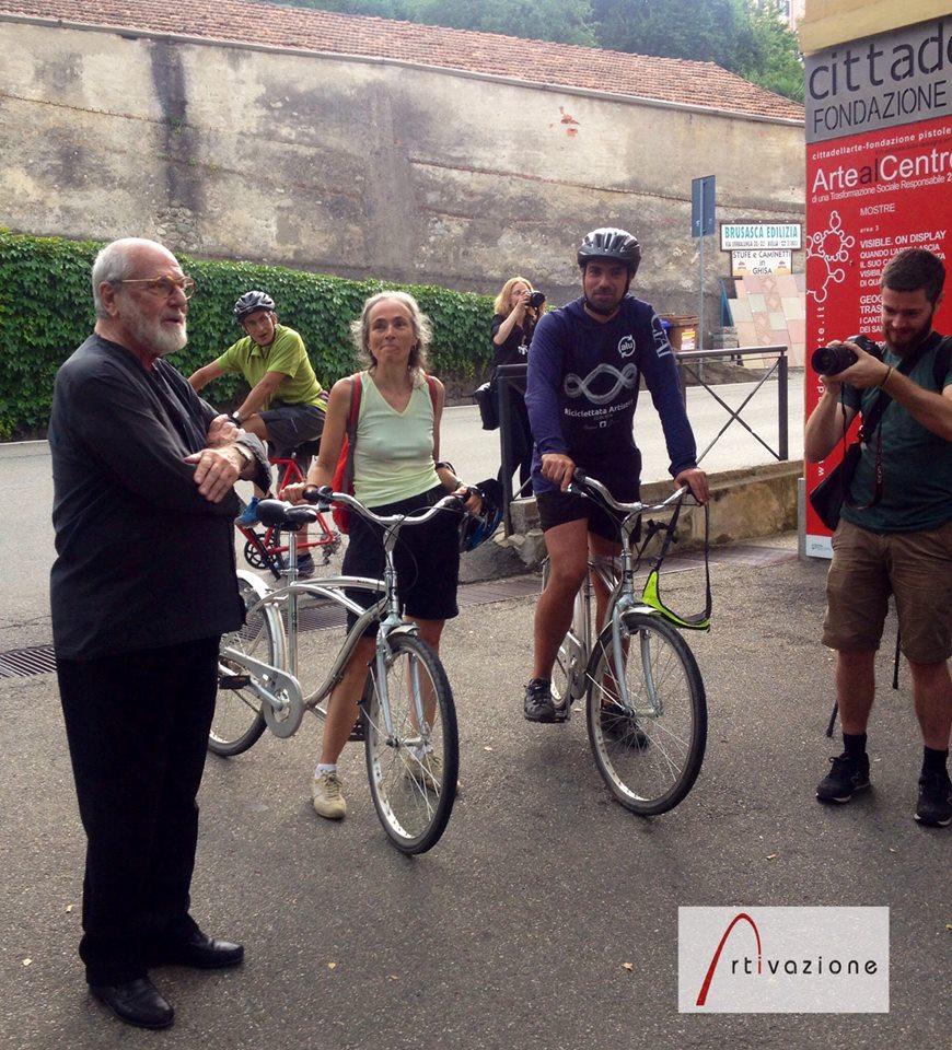 L'arrivo a Cittadellarte - Fondazione Pistoletto