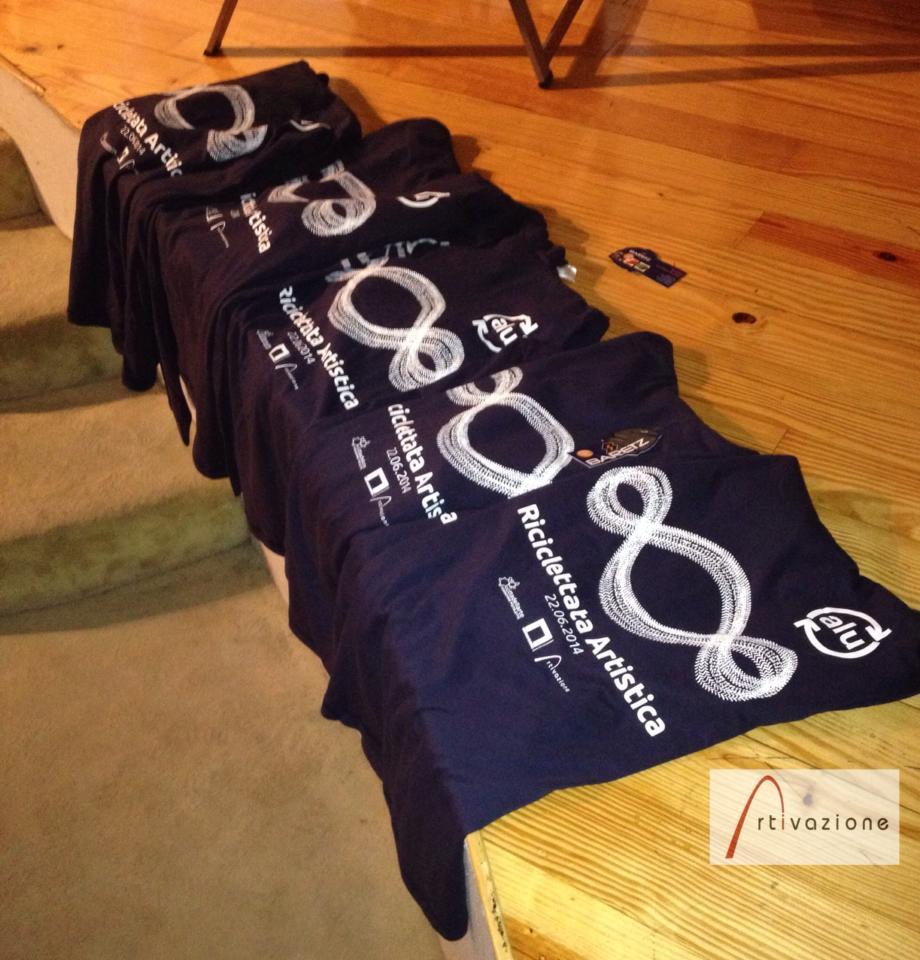 Le magliette per la manifestazione offerte da CiAL