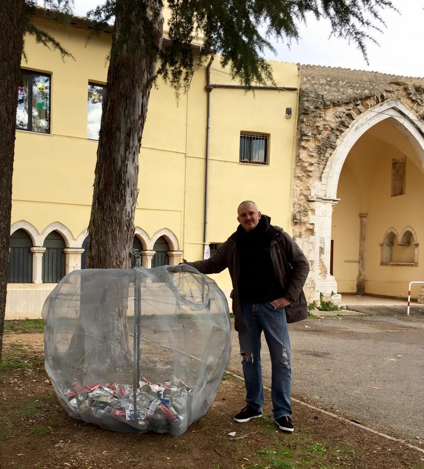 Francesco Saverio Teruzzi e la Mela del Terzo Paradiso
