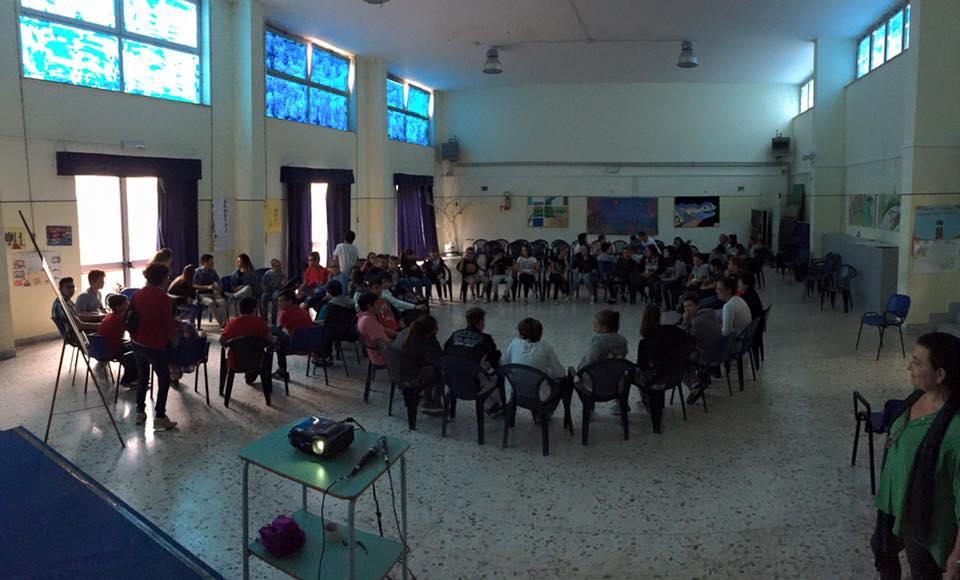 Incontro a scuola a Pozzuoli